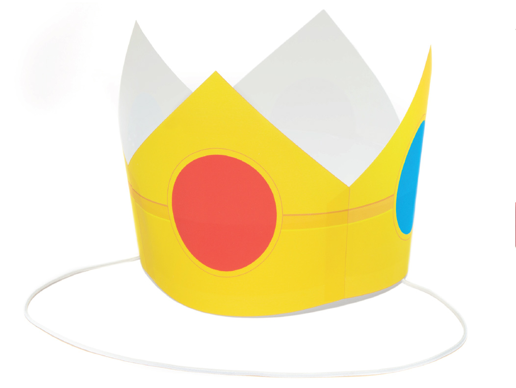 Peach crown