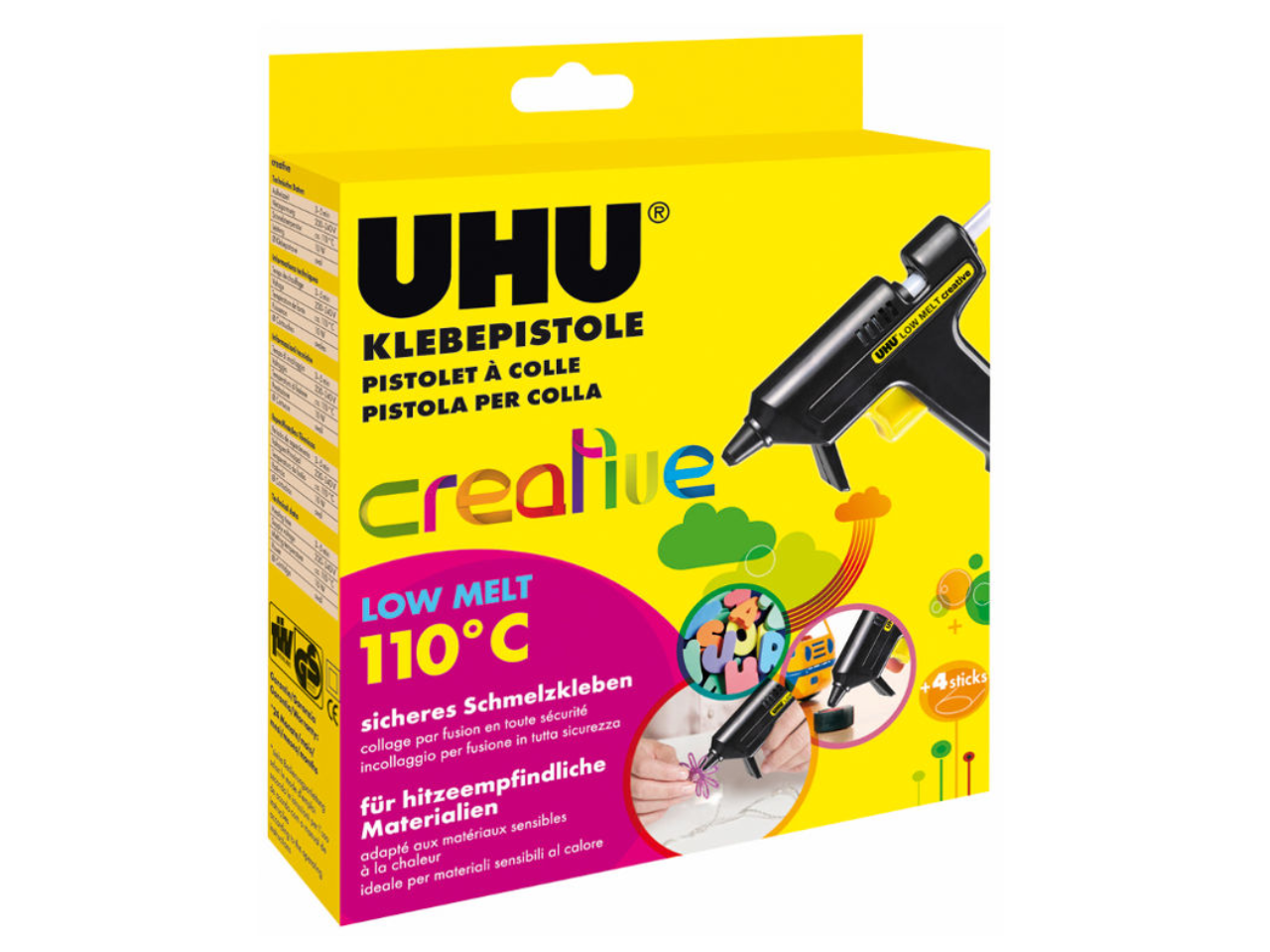 UHU Gun glue Creative LOW MELT 110°C
